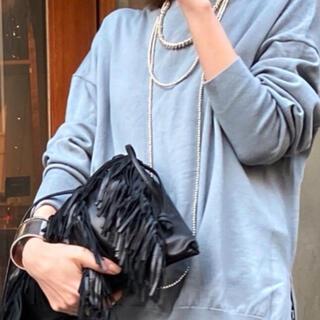 アパルトモンドゥーズィエムクラス(L'Appartement DEUXIEME CLASSE)の☺︎【GOOD GRIEF】Lamb Leather Fringe Bag (ショルダーバッグ)