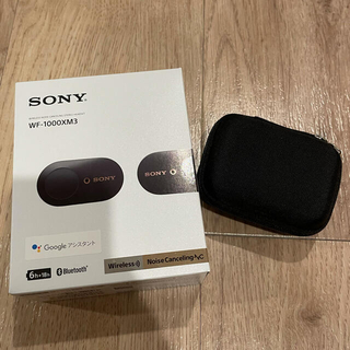 SONY - SONY WF-1000XM3(B) 完全ワイヤレスイヤホン