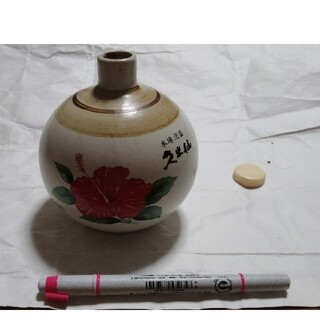 沖縄 本場泡盛 久米仙 陶器のから器(焼酎)