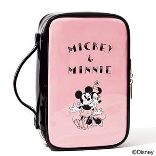 Disney - sweet 8月号付録 ミッキー&ミニー ドレッサーポーチ