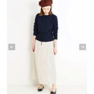 IENA - イエナ♡sese ドットスカート 34