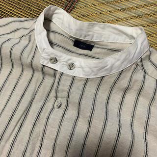 ichi ストライプ シャツ