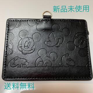 Disney - IDカードケース パスケース ミッキーマウス ディズニー 社員証入れ