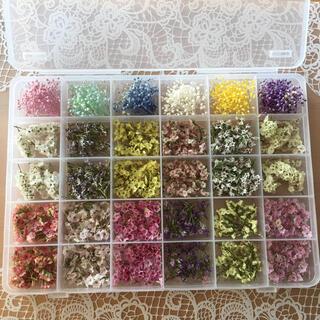 花材詰め合わせ 花材セット ソフトミニかすみ草6色 ハイブリッドスターチス12種