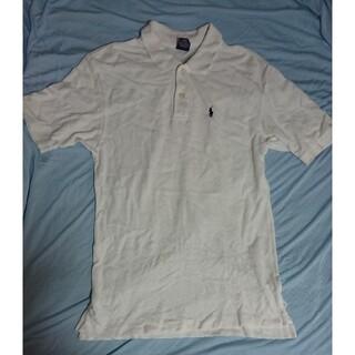 POLO RALPH LAUREN - ポロシャツ polo 白 ホワイト コットン 綿100 ポロラルフローレン
