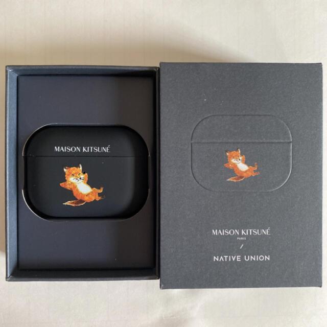 MAISON KITSUNE'(メゾンキツネ)の箱無し メゾンキツネ AirPods Proケース チラックスフォックス スマホ/家電/カメラのスマホアクセサリー(モバイルケース/カバー)の商品写真