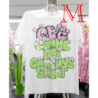 COMME des GARCONS - KAWS × COMME des GARCONS  Tシャツ Mサイズ