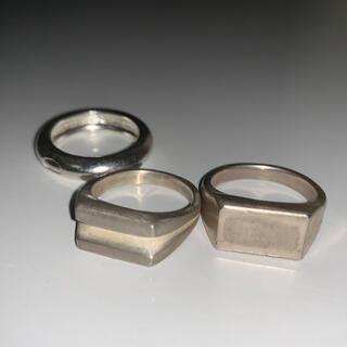 マルタンマルジェラ(Maison Martin Margiela)のシルバーリング (リング(指輪))