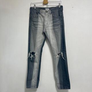 マルタンマルジェラ(Maison Martin Margiela)のFACETASM denim pants(デニム/ジーンズ)