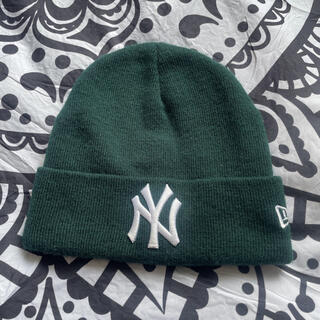 NEW ERA - NEW ERA  人気NYロゴ♡ニット帽 ニットキャップ ビーニー