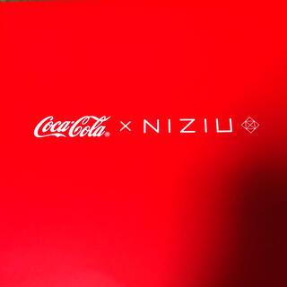 コカコーラ(コカ・コーラ)のコカ・コーラ☆NIZIU・ペットボトルクーラー&ペアグラス(ノベルティグッズ)