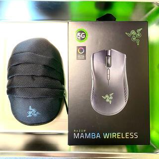 レイザー(LAZER)の美品 RAZER MAMBA WIRELESS レイザー マンバワイヤレス(PC周辺機器)