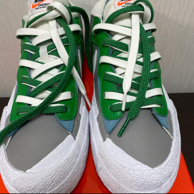NIKE(ナイキ)のナイキサカイ SACAI × NIKE BLAZER LOW 28.5cm メンズの靴/シューズ(スニーカー)の商品写真