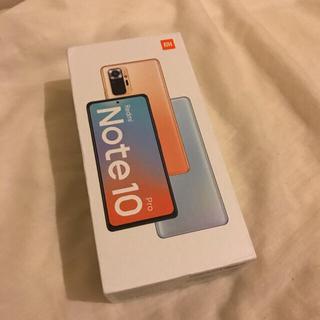 ANDROID - Xiaomi Redmi note 10 pro SIMフリー