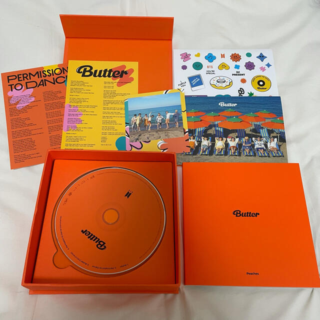 防弾少年団(BTS)(ボウダンショウネンダン)のBTS アルバム Butter peach VER. エンタメ/ホビーのCD(K-POP/アジア)の商品写真