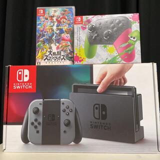 Nintendo Switch - Switch プロコントローラー スマブラ セット