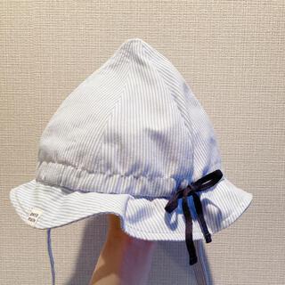 プティマイン(petit main)のプティマイン petitmain 48センチ ベビー帽子(帽子)