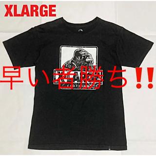 XLARGE - 【人気】XLARGE エクストララージ プリントTシャツ ゴリラ 半袖 古着