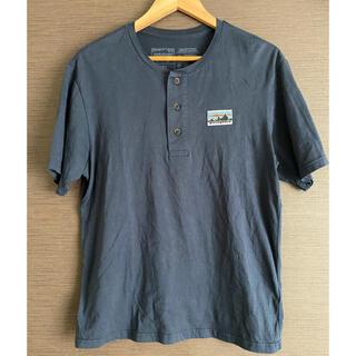 patagonia - Tシャツ パタゴニア 紺色 S size 【人気ブランド】