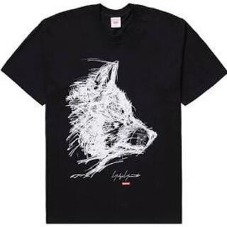 Supreme - supreme youji yamamoto scribble wolf tee