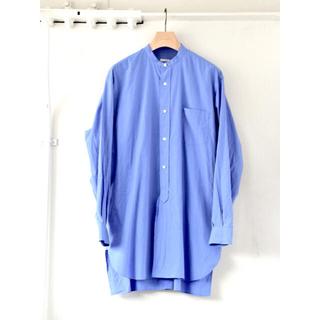 COMOLI - COMOLI  21AW / バンドカラーシャツ