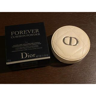 Christian Dior - ディオールスキン フォーエヴァー クッションパウダー 箱あり