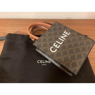celine - CELINE ミニバーティカルカバ/トリオンフ キャンバス