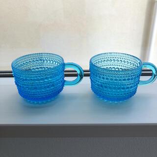 iittala - イッタラ ヌータヤルヴィ カップ ヴィンテージ レア 廃盤 ガラス グラス