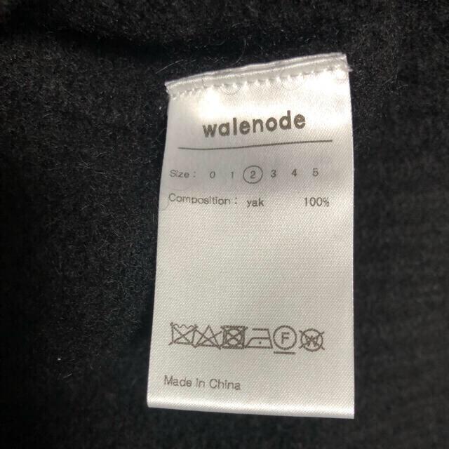 2 walenode wagamama 別注 ヤク ニット メンズのトップス(ニット/セーター)の商品写真