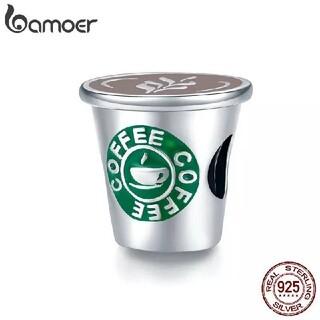 【売り尽くしセール】bamoer バモア s925 チャーム コーヒータイム