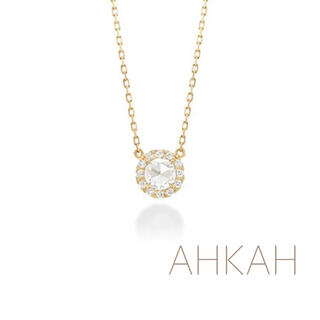 AHKAH - 【特価】AHKAH ヴィヴィアンローズ ネックレス K18イエローゴールド