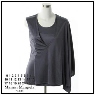 マルタンマルジェラ(Maison Martin Margiela)の新品未使用 マルジェラ アシンメトリー カットソー(カットソー(半袖/袖なし))