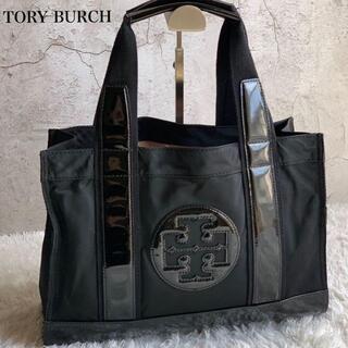 トリーバーチ(Tory Burch)のTORY BURCH ナイロン トートバッグ A4可能 ブラック(トートバッグ)