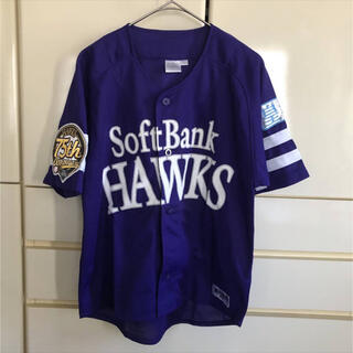 フクオカソフトバンクホークス(福岡ソフトバンクホークス)のソフトバンクホークス 鷹の祭典2013 ユニフォーム 75th 紫(ウェア)