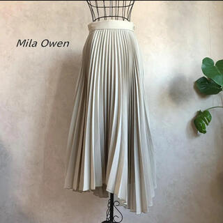Mila Owen - 【美品】ミラオーウォン スーツセットランダムヘムプリーツスカート