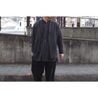 COMOLI - COMOLI ベタシャンシャツジャケット サイズ1 コモリ シャンブレー