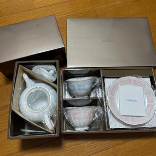 Noritake - ノリタケ製 ティーポット ティーカップセット