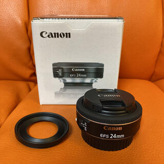 Canon - Canon EF-S 24mm F2.8 STM パンケーキレンズ