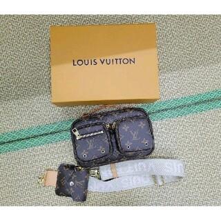 ルイヴィトン(LOUIS VUITTON)のルイヴィトンユーティリティ・クロスボディ バッグ(ショルダーバッグ)