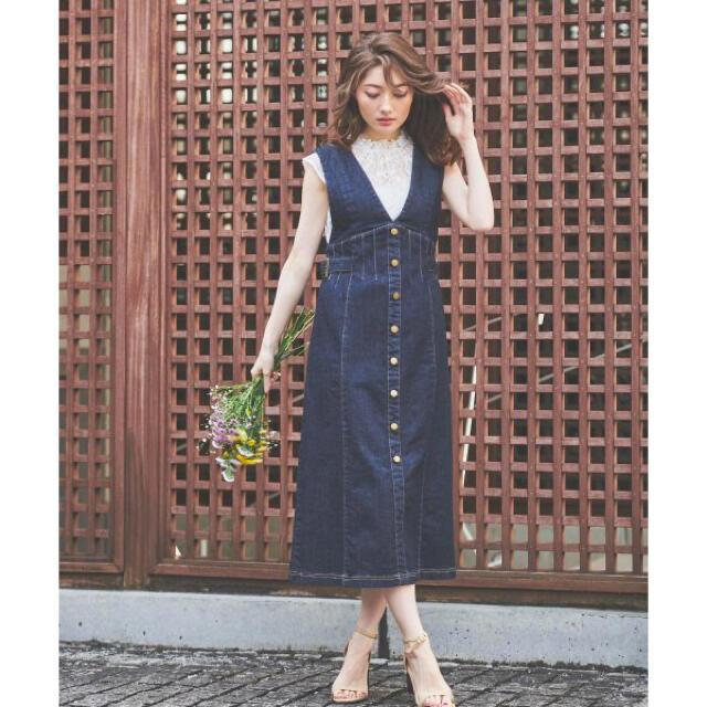 Noela(ノエラ)の新品 デニムコーデセット レディースのワンピース(ひざ丈ワンピース)の商品写真