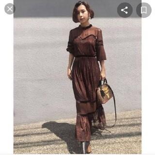 Ameri VINTAGE - Ameri VINTAGE sheer lace dress