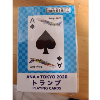 非売品 ANA×TOKYO2020 トランプ PLAYING CARDS(トランプ/UNO)