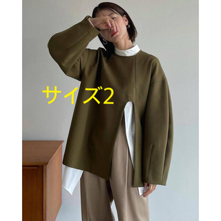 STUDIOUS - 【CLANE クラネ】ARCH CUT DOUBLE CLOTH TOPS