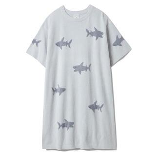 gelato pique - 新品 gelato pique モチーフ ジャガード ドレス サメ シャーク