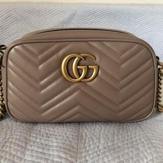 Gucci - GUCCI グッチ GGマーモント ピンクベージュ