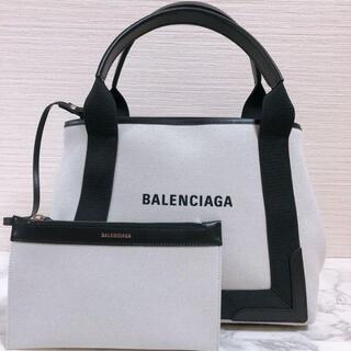 Balenciaga - 新品★バレンシアガ ネイビーカバ トートバッグ スモール