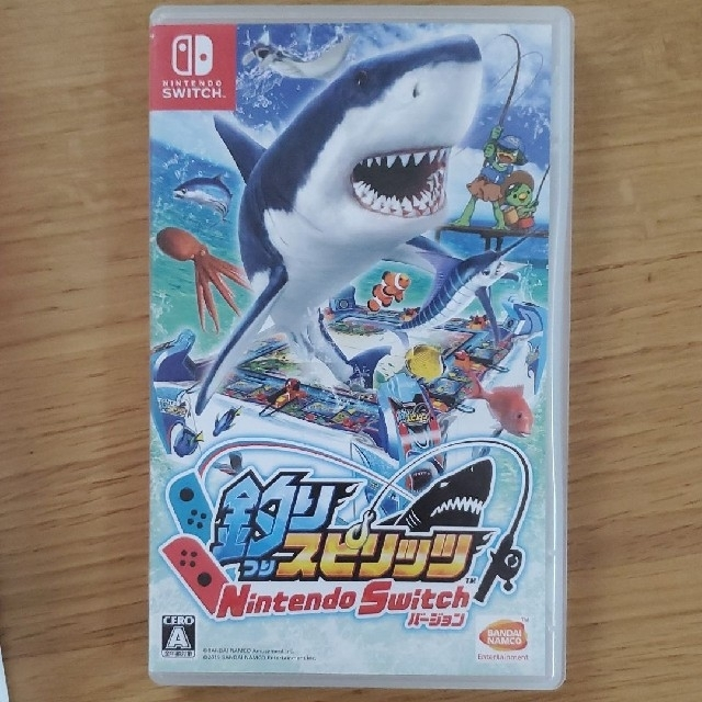 Nintendo Switch(ニンテンドースイッチ)の釣りスピリッツ Nintendo Switch バージョン エンタメ/ホビーのゲームソフト/ゲーム機本体(家庭用ゲームソフト)の商品写真