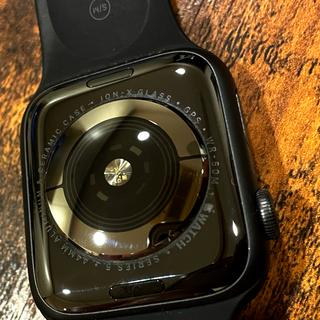 アップルウォッチ(Apple Watch)の付属品あり 44ミリ【Apple Watch series5  GPS】(スマートフォン本体)