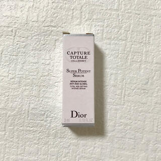 ディオール(Dior)のカプチュール トータル セル energy スーパー セラム 3ml(美容液)