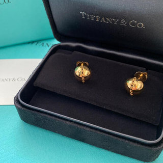 Tiffany & Co. - tiffanyハードウェアボルドスタッドピアス18kゴールド